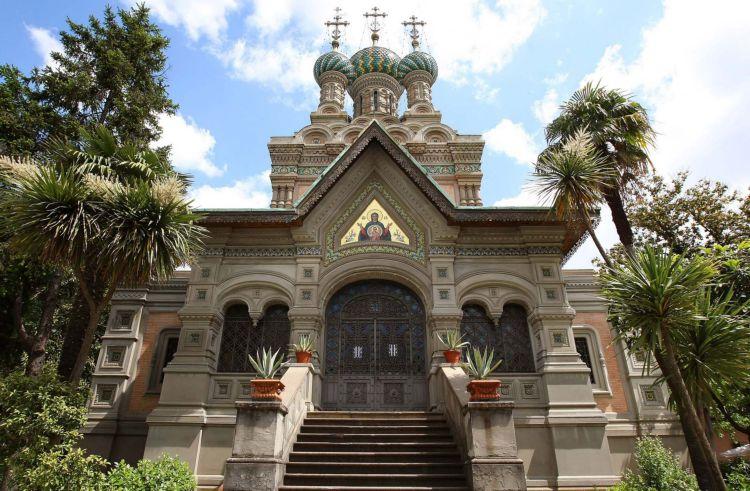 Русская православная церковь в Санремо