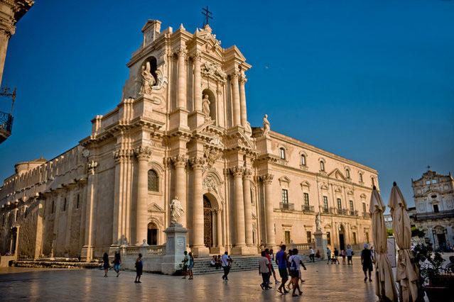 Кафедральный собор города Сиракуз