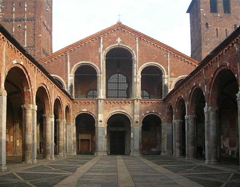 Базилика Святого Амвросия Медиоланского