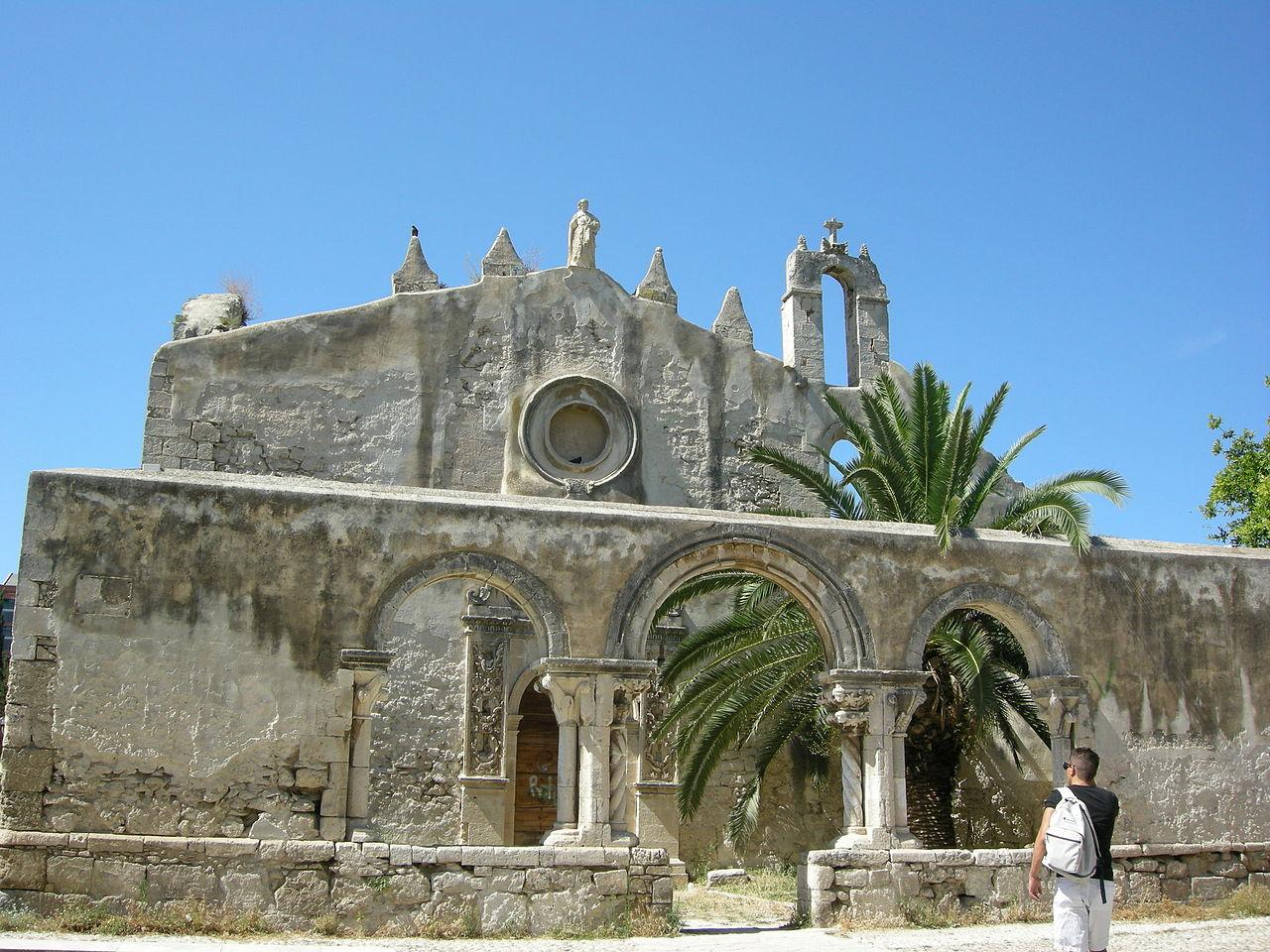 Катакомбы святого Иоанна Богослова и крипта святого Маркиана