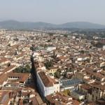 Флоренция с высоты полета
