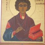 Икона святого Пантелеимона
