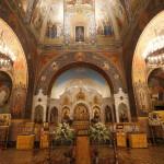 Интерьер русской церкви во Флоренции