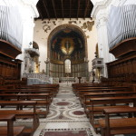 Интерьер собора в Салерно