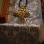 Крест-мощевик Романовых - Лопухиных