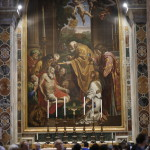 Мозаика Причастие святого  Иеронима
