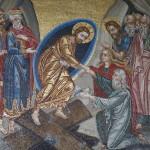 Мозаиока в греческом храме