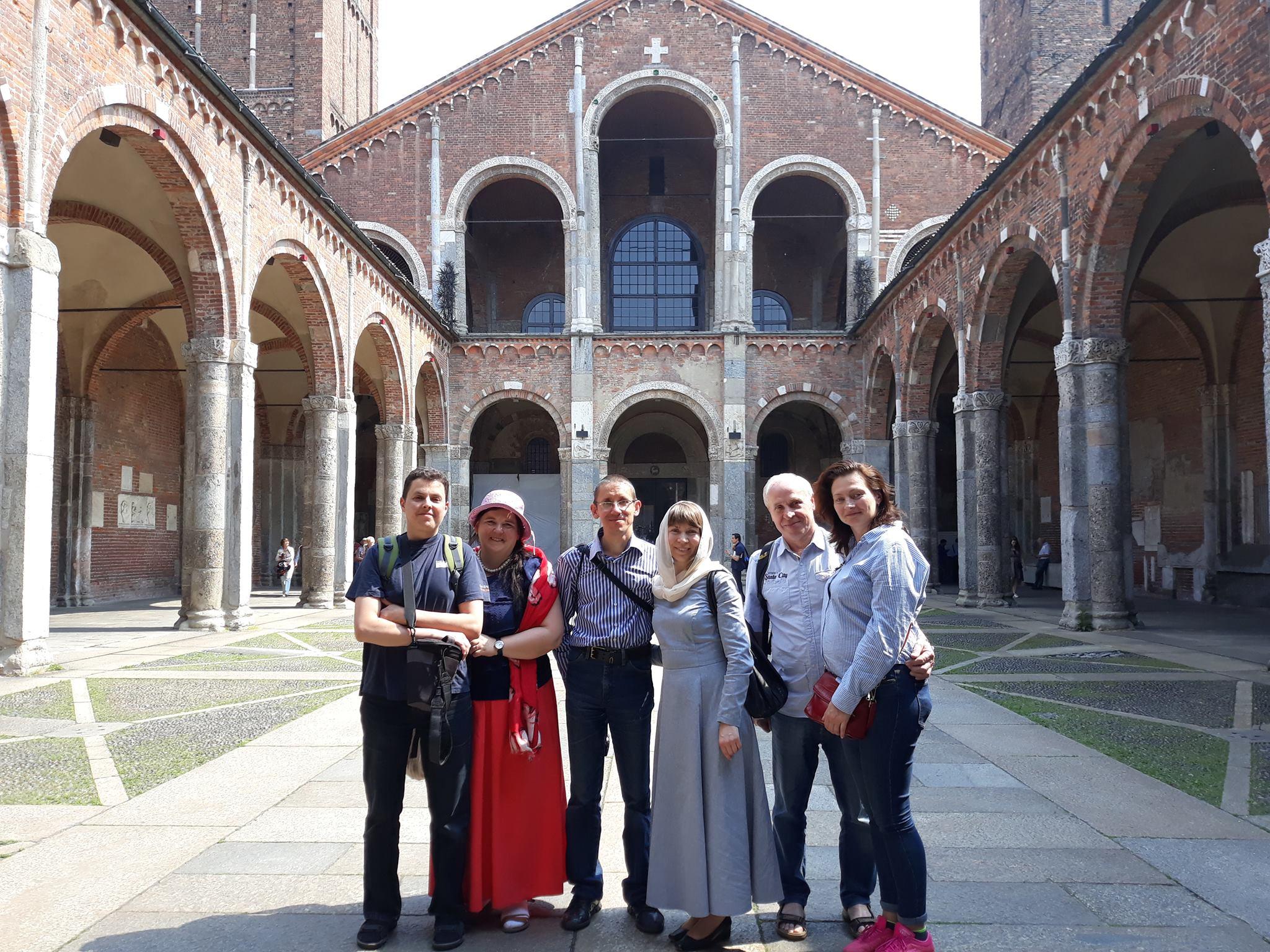 Паломники в Италии с 5 по 12 мая 2018